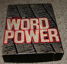 WORD POWER GAME 1967 AVALON HILL COMPLETE EXCELLENT - $25.00