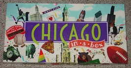 CHICAGO IN A BOX  GAME  LATE FOR THE SKY COMPLETE EXCELLENT LIGHTLY PLAYED - $25.00