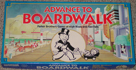 ADVANCE TO BOARDWALK GAME 1985 PARKER BROTHERS OPEN BOX FACTORY SEALED P... - $20.00
