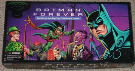 Batman Forever Battle At The Big Top 3 D Board Game 1995 Parker Brothers Complete - $20.00