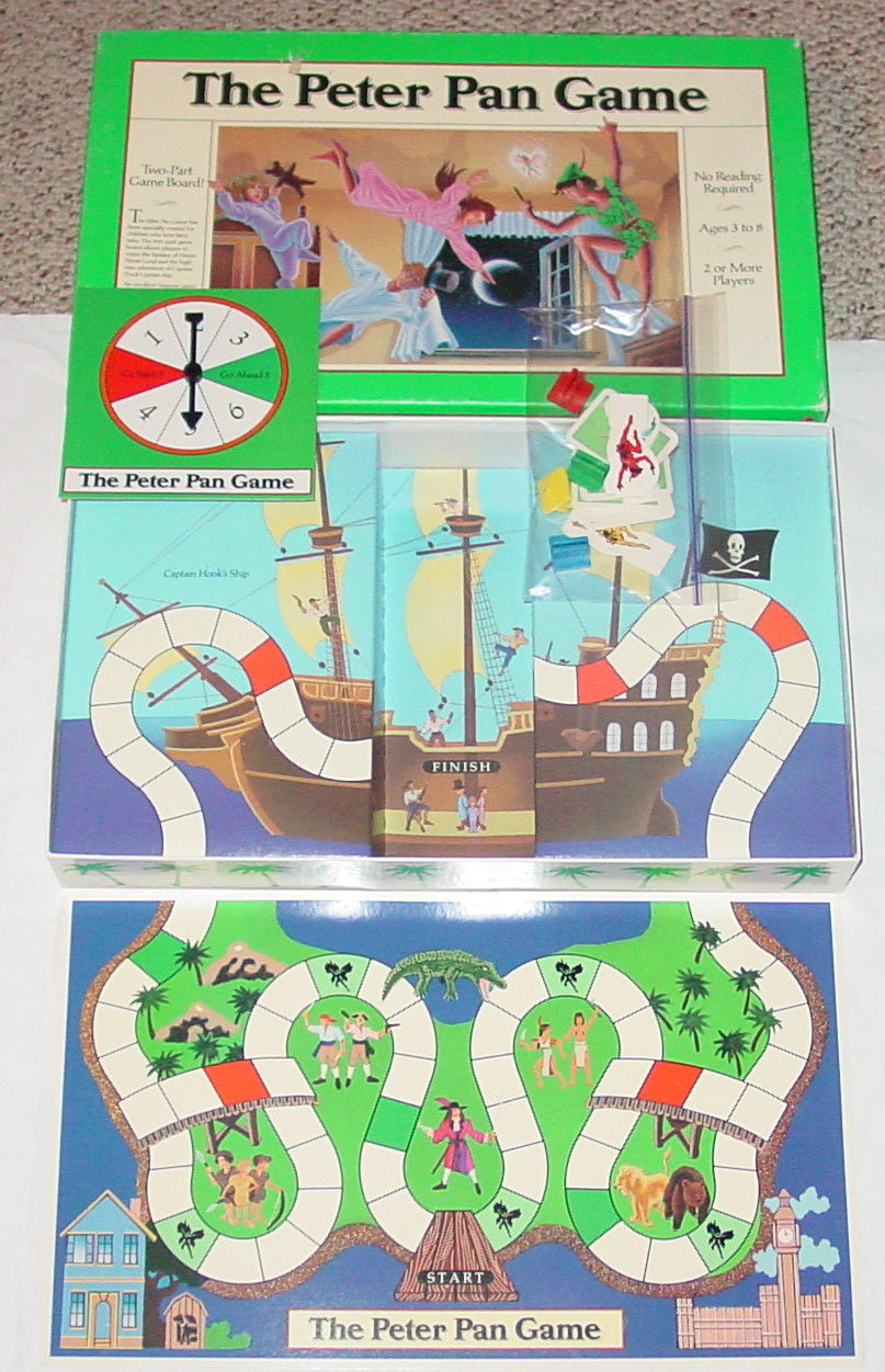 Primary image for PETER PAN GAME UNIVERSITY GAMES 1990 COMPLETE