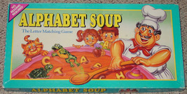 Alphabet Soup Letter Matching Game 1992 Parker Brothers Complete Excellent - $15.00