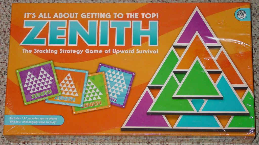 ZENITH GAME MIND WARE 2009 STRATEGY NEW Factory Sealed box