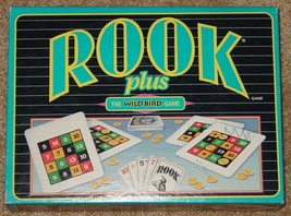 ROOK PLUS THE WILD BIRD CARD CHIPS GAME PARKER BROTHERS 1994 COMPLETE NEW - $20.00