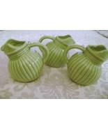 Miniature Green Ball Jugs - $12.00