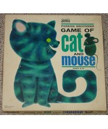 GAME OF CAT & MOUSE GAME 1964 PARKER BROTHERS VINTAGE COMPLETE VERY GOOD - $25.00
