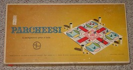 PARCHEESI A BACKGAMMON GAME OF INDIA 1967 SELCHOW & RIGHTER COMPLETE - $25.00