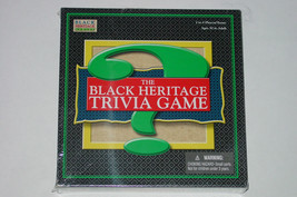 BLACK HERITAGE TRIVIA GAME 2005 GEEBEE MARKETING NEW SEALED COMPLETE - $30.00