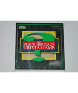 BLACK HERITAGE TRIVIA GAME 2005 GEEBEE MARKETING NEW SEALED COMPLETE - $25.00