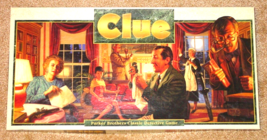 CLUE CLASSIC DETECTIVE GAME PARKER BROTHERS 1992  COMPLETE lightly use E... - $15.00