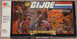 GI JOE LIVE THE ADVENTURE GAME MILTON BRADLEY 1986 COMPLETE MADE IN USA - $15.00