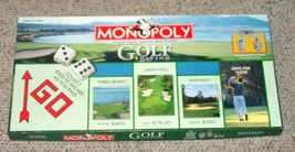 MONOPOLY GOLF EDITION GAME 2000 PARKER BROTHERS COMPLETE EXCELLENT - $15.00
