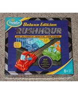 RUSH HOUR DELUXE GAME TRAFFIC JAM PUZZLE GAME 2006 THINK FUN COMPLETE EX... - $20.00