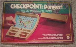 CHECKPOINT DANGER ULTIMATE SEARCH GAME 1978 IDEAL GAMES COMPLETE EXCELLENT - $30.00