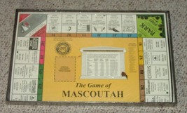 GAME OF MASCOUTAH ILLINOIS GAME MONOPOLY STYLE COMPLETE EXCELLENT - $30.00