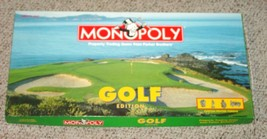 MONOPOLY GOLF EDITION GAME 1998 USAOPOLY COMPLETE EXCELLENT - $20.00