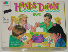 Hands Down Game Toy 1987 Milton Bradley Complete Made In Usa - $10.00