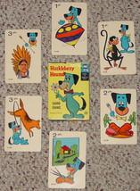 HUCKLEBERRY HOUND VINTAGE CARD GAME 1961  EDU CARDS HANNA BARBERA 1961 C... - $15.00