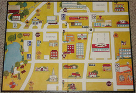 CONCEPT TOWN GAME 1979 DEVELOPMENTAL LEARNING MATERIALS COMPLETE LIGHTLY... - $30.00