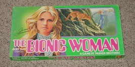 BIONIC WOMAN GAME JAIME SOMMERS 1976 PARKER BROTHERS COMPLETE EXCELLENT - $20.00