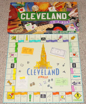 CLEVELAND IN A BOX GAME LATE FOR THE SKY OUT OF PRINT COMPLETE - $45.00