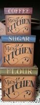 13641 - Ma's Kitchen Nestable Box Set of 3 boxes Paper Mache'  - $21.95