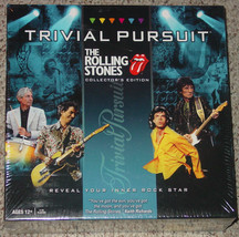 TRIVIAL PURSUIT GAME THE ROLLING STONES 2010 USAOPOLY  NEW FACTORY SEALED - $40.00