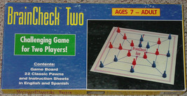 BRAINCHECK TWO GAME 1994 BHAV ENTERPRISES MADE IN USA RARE COMPLETE EXCE... - $25.00