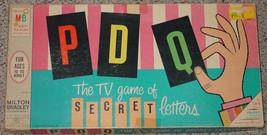 PDQ GAME P D Q GAME 1965 PARKER BROTHERS VINTAGE TV SHOW GAME EXCELLENT ... - $20.00