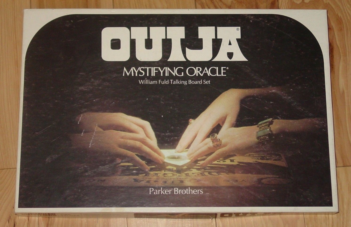 OUIJA MYSTIFYING ORACLE WILLIAM FULD BOARD SET 1972 PARKER BROTHERS COMPLETE