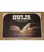 OUIJA MYSTIFYING ORACLE WILLIAM FULD BOARD SET 1972 PARKER BROTHERS COMP... - $20.00
