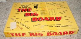 BIG BOARD STOCK EXCHANGE GAME 1958 COMPLETE USED CONDITION - $25.00