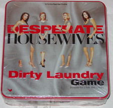 Desperate Housewives Dirty Laundry Tin Game Cardinal 2005 New Factory Sealed Tin - $10.00
