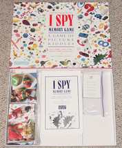 I SPY MEMORY GAME BRIARPATCH 1995 MATCH PICTURE RIDDLES COMPLETE - £10.93 GBP