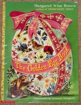 Book Golden Egg Book Storybook Margaret Wise Brown Paperback Scholastic - $6.00