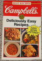 COOKBOOK CAMPBELLS BEST RECIPES DELICIOUSLY EASY RECIPES JAN 1992 COOK BOOK - $5.00