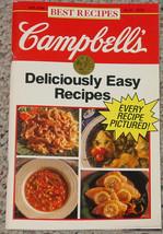 Cookbook Campbells Best Recipes Deliciously Easy Recipes Jan 1992 Cook Book - $5.00
