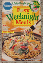 COOKBOOK PILLSBURY EASY WEEKNIGHT MEALS CLASSIC... - $3.00