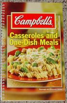 Cookbook Casseroles & One Dish Meals Cook Book 2005 Campbells Pb Excellent - $5.00