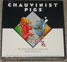 CHAUVINIST PIGS BATTLE OF THE SEXES GAME 1991 T... - $28.00