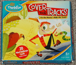 Cover Your Tracks Game 2006 Thinkfun Complete - $20.00