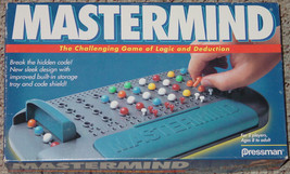Mastermind Game Of Logic & Deduction 1996  Pressman Games Complete #3018 - $20.00