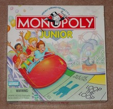 MONOPOLY JR JUNIOR 1999 PARKER BROTHERS HASBRO COMPLETE EXCELLENT - $15.00