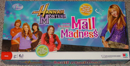 Mall Madness Hannah Montana Board Game Talking Electronic 2008 Complete - $20.00