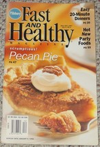 COOKBOOK PILLSBURY FAST & HEALTHY MAGAZINE COOK BOOK JAN 1998 VERY GOOD - $5.00
