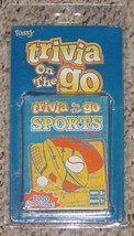 TRIVIA ON THE GO SPORTS EDITION CARD GAME 2004 FUNDEX NEW SEALED CARDS O... - $10.00