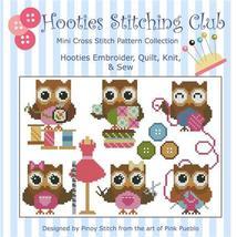 Hooties Stitching Club cross stitch chart Pinoy Stitch - $7.20
