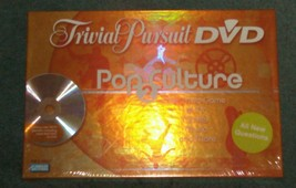 TRIVIAL PURSUIT DVD POP CULTURE 2 GAME NEW FACTORY SEALED GAME - $25.00