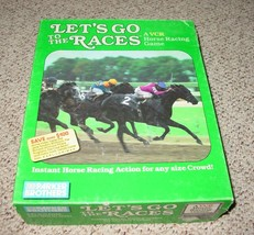 LETS GO TO THE RACES GAME PARKER BROTHERS VHS 1987 COMPLETE EXCELLENT - $10.00