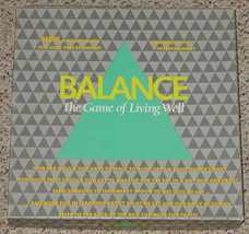 BALANCE GAME OF LIVING WELL COMPLETE  EXCELLENT CONDITION - $20.00